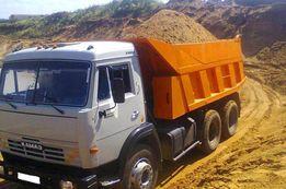 Доставка материалов - песок,щебень, отсев,шлак,цемент,керамзит,граншла