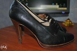 Туфли, натуральная кожа.