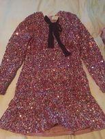 HM cekiny sylwester conscious sukienka Erdem balmain asos zara tunika