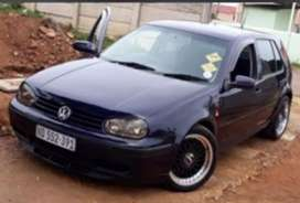 Golf 4 2.0lt 8v with 20v gearbox