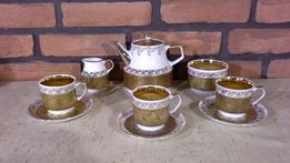 Złoty Serwis CHODZIEŻ, 3 os Serwis Herbata Złoocony