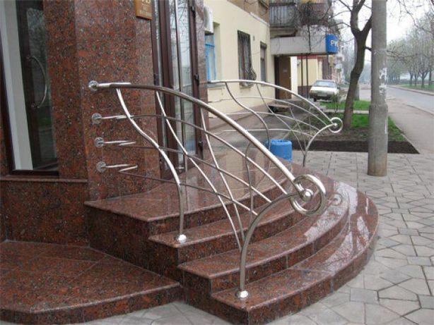 Поручни из нержавеющей стали, Элит-перила Краматорск - изображение 4