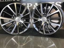 New mags 15 inch to fit  Toyota Professional