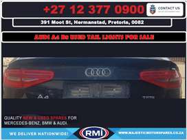Audi A4 B8 used tail lights for sale
