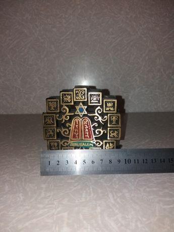 Салфетница бронза латунь Иерусалим Запорожье - изображение 2