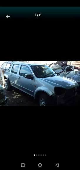 Gwm Steed 5 double cab stripping
