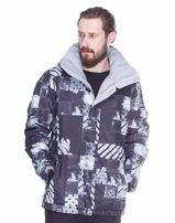 Куртка сноубордическая Quiksilver серая с мембраной 10K