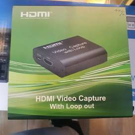 HDMI VIDEO CAPTURE WITH LOOP OUT Brand new in box