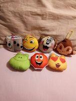 Мягкие игрушки из Макдональдса Эмоджи