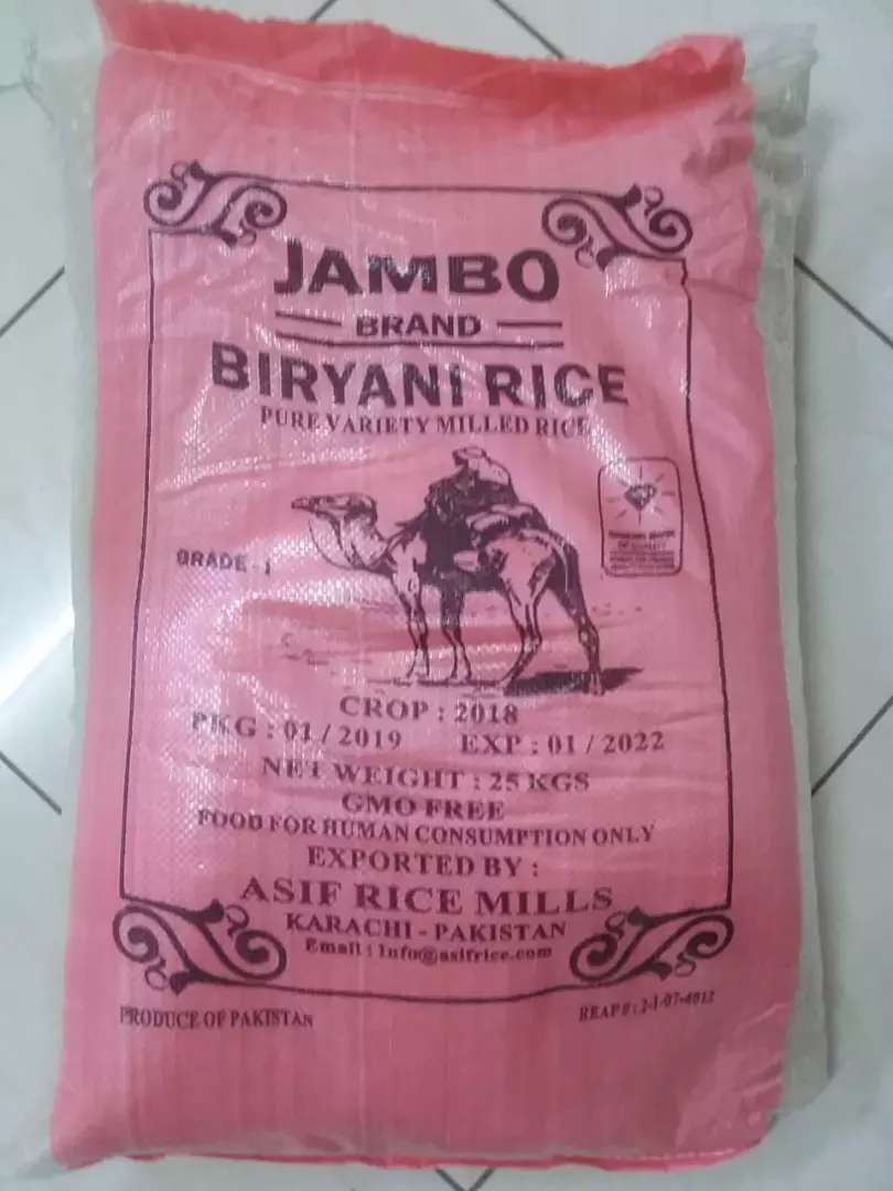 Rice whole sale 25kg 0