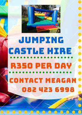 Clean, Multicolored Jumping Castle for Hire