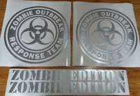 Used, Zombie outbreak decals - Suit jeep hummer FJ cruiser SUV 4x4 for sale  South Africa