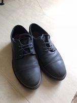 Кожаные туфли Zara р 34