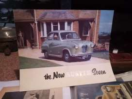 Austin Seven, original showroom pamphlet