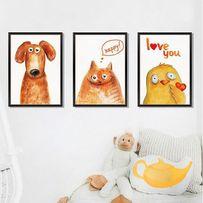 Naklejki na ścianę Obrazy Zwierzęta WS-0317