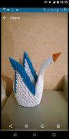 Sprzedam łabędzia z origami