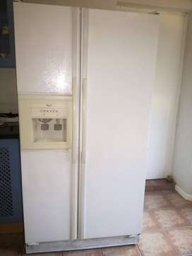 Whirlpool Double door fridge for sale