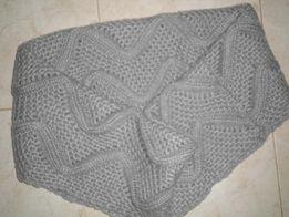 Теплый шарф-снуд состояние нового