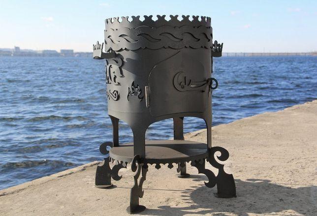 Печь под казан на дровах- печка для казана. Барбекю для дачи. Мангалы. Днепр - изображение 2
