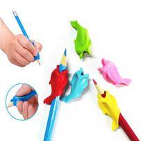 Ручка-самоучка, тренажер насадка доя ручки для письма дельфин