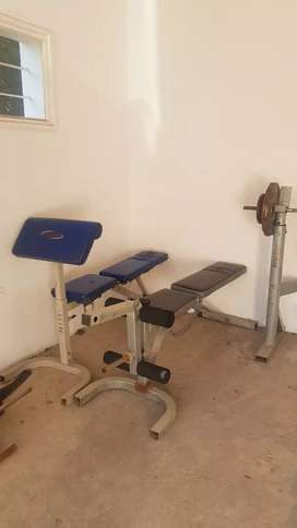 Gym Equipments for sell