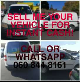 I Specialise in Buying Cars and Bakkies ANYWHERE in Cape Town.