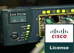 Лицензии для коммутаторов маршрутизаторов и др сетевого Cisco