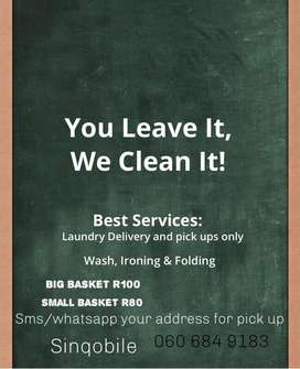 Same day laundry services