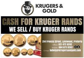 We Buy Kruger rand