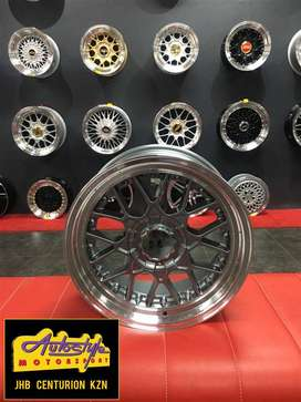 15 inch and 17 inch  BSS BBS Style 4 100,