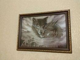 Картина Волки 600 грн.