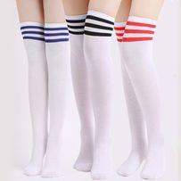 Гольфы гетры выше колен длинные носки