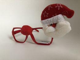 Świąteczne okulary Mikołaja