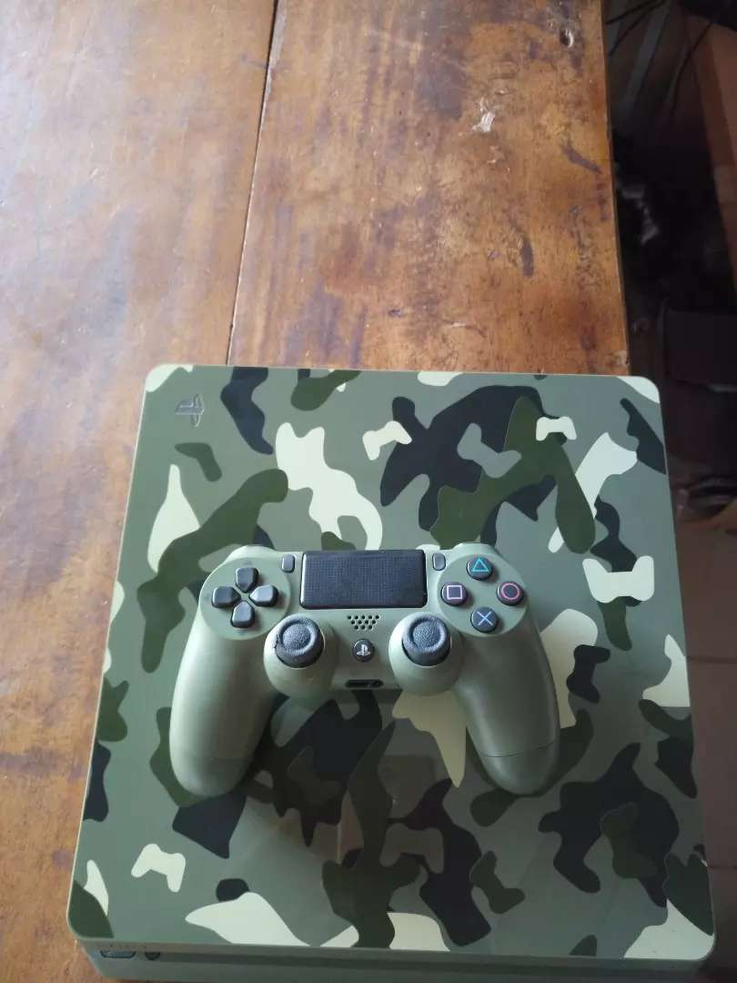 Camouflage ps4 slim 0