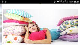 Пошив реставрация подушек одеял постельное белье наволочки простынь