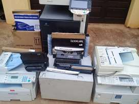 Sales,service of printers and sales of cartridges