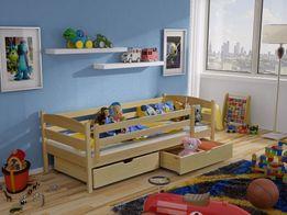Детская и подростковая кровать из массива бука Хьюго