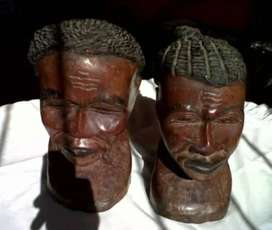 Head sculptures - nice father's day gift