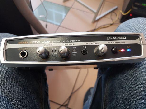 M-audio przedwzmacniacz usb i interfejs audio Katowice - image 5