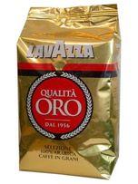 Кофе LAVAZZA QUALITA ORO, Качественное зерно,100% Арабика, 1 кг.