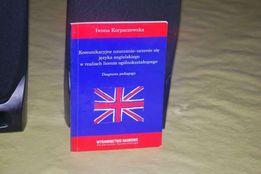 Książka poradnik nauczanie język angielski Iwona Korpaczewska Książka