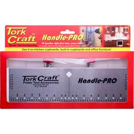 CUPBOARD HANDLE FITTING JIG TORK CRAFT HANDLE PRO