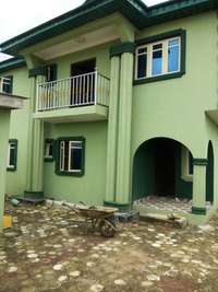 Newly Built 3bedroom flat at Amule Ashipa, Ayobo POP all round 0