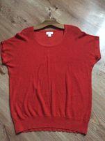 Bluzka czerwona lekka przewiewna na lato (LOFT) rozm 48-50