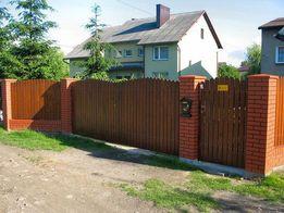 Usługi brukarskie montaż ogrodzeń