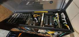 Dell! A fully loaded server cabinet. See pictures for all the contents