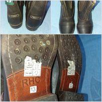 Кожаная ортопедическая обувь 20 см по стельке
