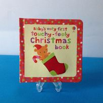 Baby's very first touchy-feely Christmas book – Usborne