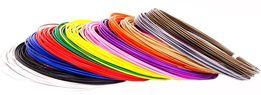 PLA (ПЛА) пластик (нить, стержень) для 3d ручки (3д ручки) Набор 12 цв