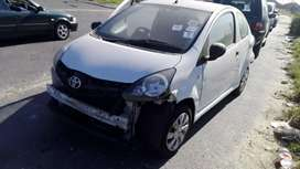 Toyota aygo breaking for spares